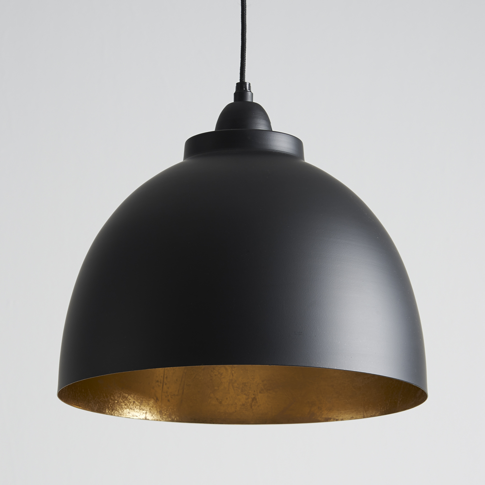 Black And Gold Pendant Lights