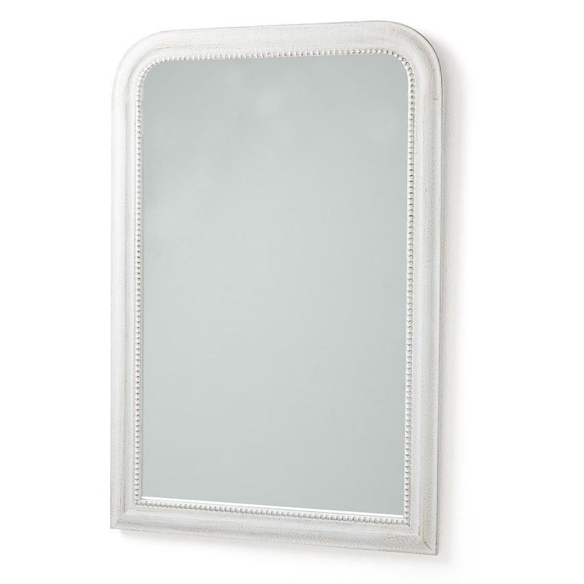 White wood framed mirror for White framed mirror